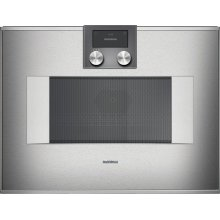 400 series 400 series speed microwave oven Stainless steel-backed full glass door Right-hinged Controls on top