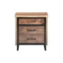 Troubadour 3 Drawer Nightstand