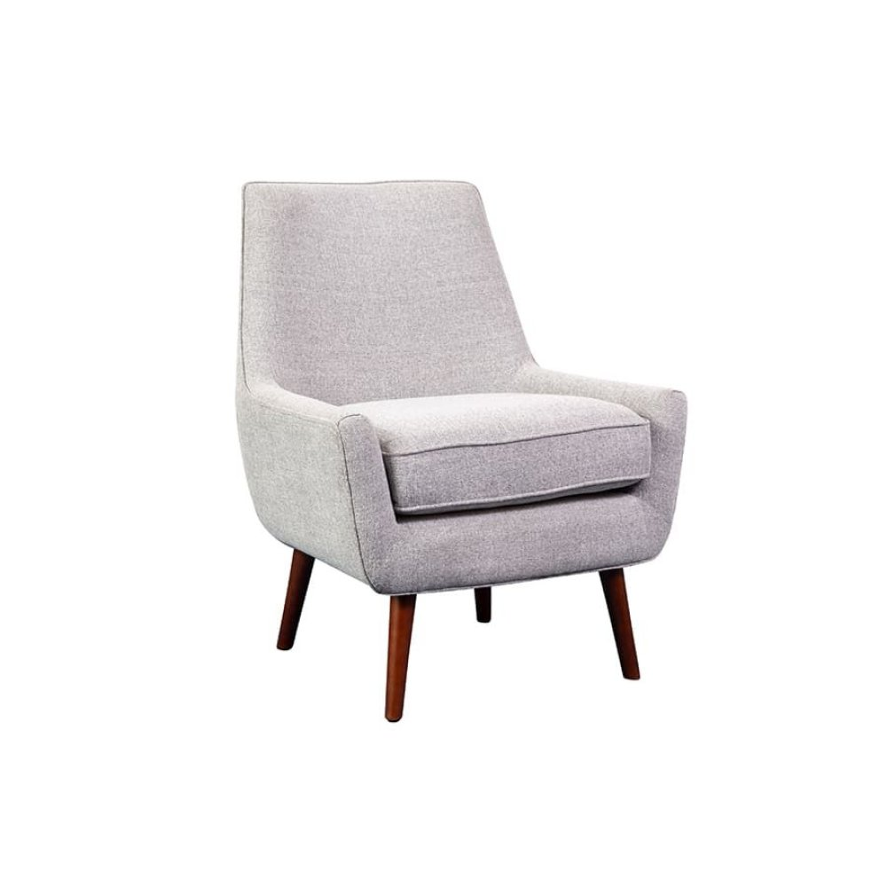 Miles Gray Accent Chair, AC6310