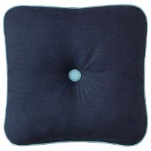 Spencer Pillow, NAVY, 18X18