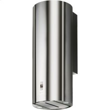 "Cylindra 15"" Stainless, Glass Wall Hood"