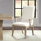 Sophie - Upholstered Arm Chair - Natural Finish Product Image