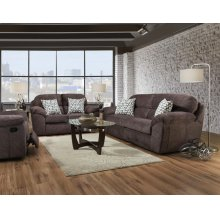 Imprint-cocoa Loveseat 18D2