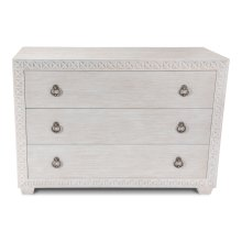 Mesa Chest, Whitewash White