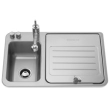 Pull-Out Style Kitchen Faucet(Stainless Steel)