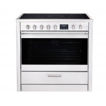 "36"" (90cm) stainless steel slide-in electric range"