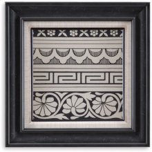 Ornamental Tile Motif III Wall Art