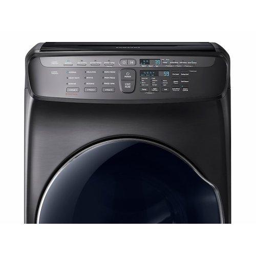 5.5 cu. ft. FlexWash Washer in Black Stainless Steel