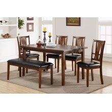 Dixon Counter Table W/lazy Susan - Espresso