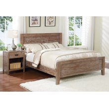 Alstad Bed - King, Pine Cone Finish