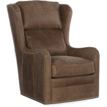 Bradington Young Farrah Swivel Chair 8-Way Tie 347-25SW