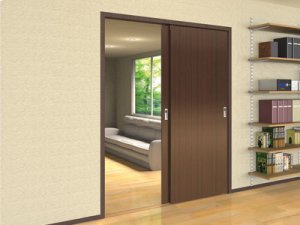 Pocket Door System - Light Duty (max. 66 Lbs) Product Image