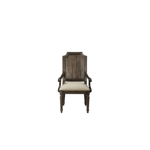 Vintage Salvage Mills Dining Arm Chair