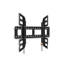 Flexo/Plano 100 X-Large Tilt/Flat Combo TV Mount, Graphite Black