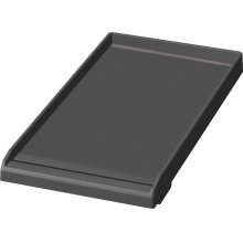 "Professional Range Accessories PAGRIDLFW 12"" Griddle Plate (with Tray) Accessory (Fusion coating)"