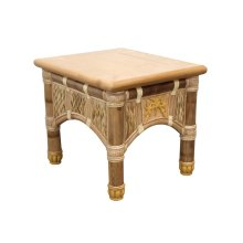 Lamp Table, Available in Natural Finish Only.