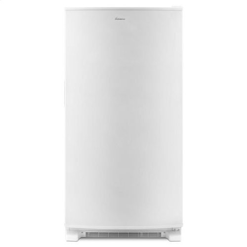 White Amana® 20 cu. ft. Upright Freezer with ENERGY STAR® Rating