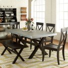 6 Piece Trestle Table Set Product Image