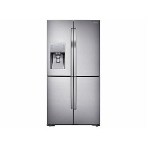 23 cu. ft. Counter Depth 4-Door Flex™ Refrigerator with FlexZone™ in Stainless Steel Product Image