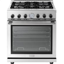 "Range NEXT 30"" Panorama Stainless steel 4 gas, gas oven"