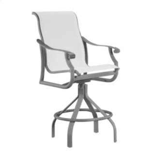 Montreux Sling Swivel Bar Stool