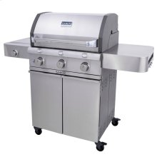 Cast Stainless 3-Burner Gas Grill