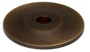 Knobs Backplate A815-1P - Unlacquered Brass Product Image