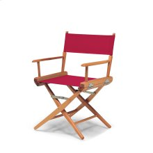 World Famous Director Chair Dining Height Arm Chair