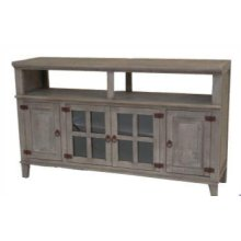 Gray Hacienda TV Stand