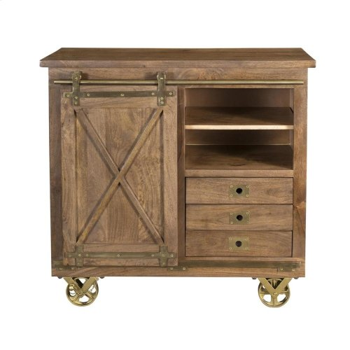 3 Drw 1 Dr Cabinet