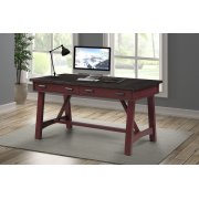 AMERICANA MODERN - CRANBERRY 60 in. Writing Desk Product Image