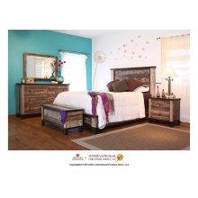 Antique King Bed