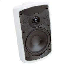 White, Indoor/Outdoor Loudspeaker; 6-in.Poly Woofer 2-Way-White OS6.3 - White