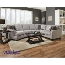 3900 - Endurance Fog 3PC Sectional