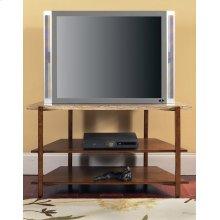 "Tivoli Faux Marble Top TV Stand 46"" x 21"" x 26"""