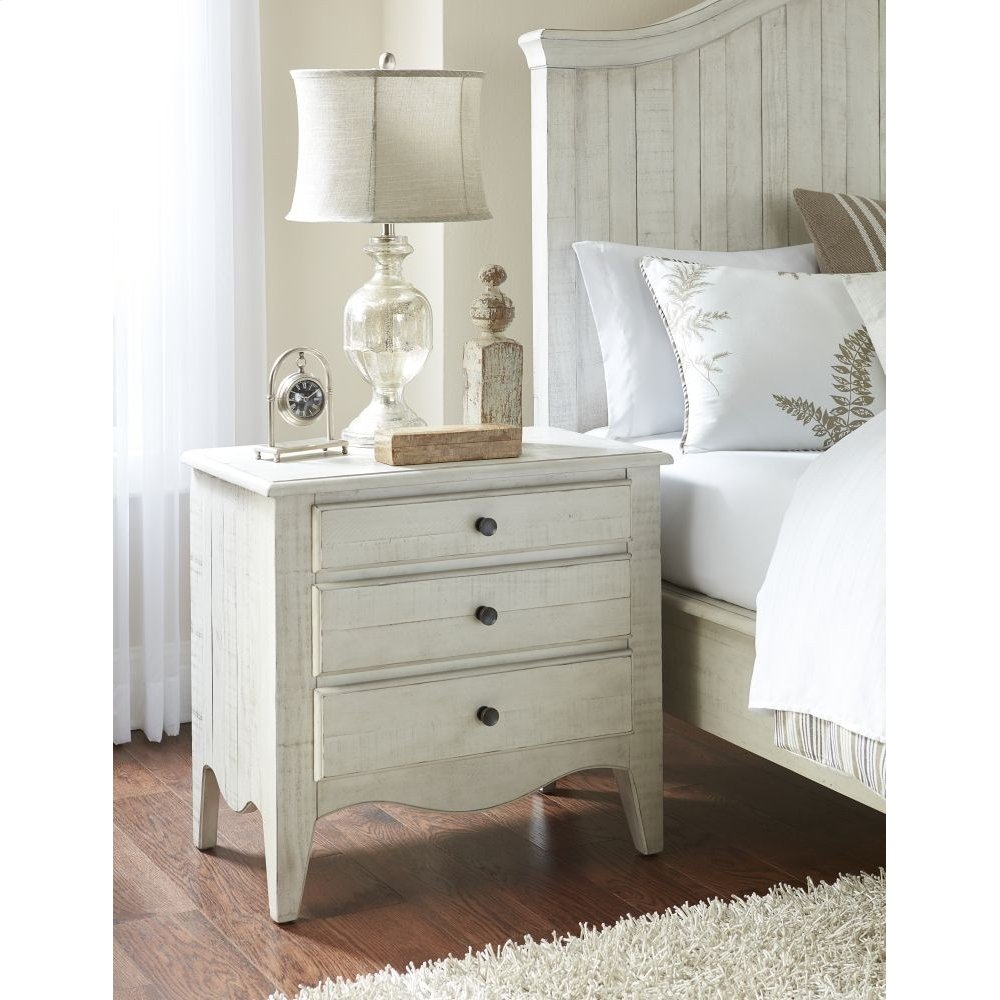 Ella 3-Drawer Nightstand