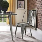 Promenade Side Chair in Gunmetal Product Image
