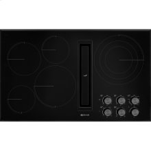 "36"" JX3™ Electric Downdraft Cooktop, Black"