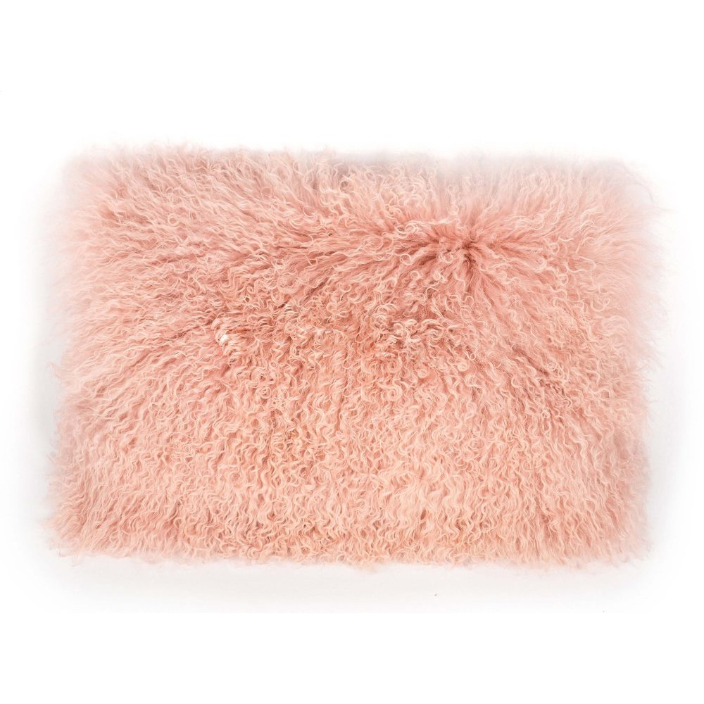 Tibetan Sheep Large Blush Pillow