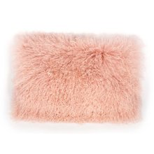 Tibetan Sheep Large Blush Pillow