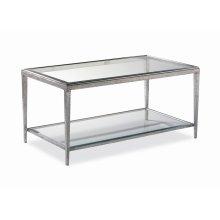 Jinx Nickel Cocktail Table