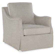Living Room Oberlin Skirted Swivel Chair