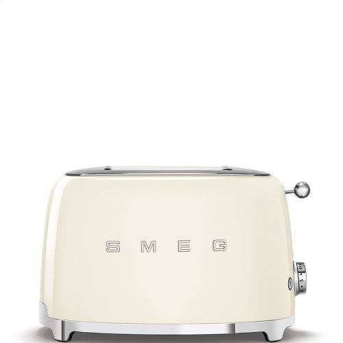 2x2 Slice Toaster, Cream