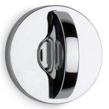 Modern Round Turnpiece - Solid Brass