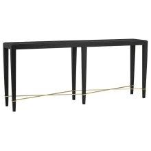 Verona Black Console Table
