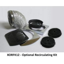 Recirculation kit for all XOC models - includes parts for initial installation and two XORFND activated carbon filter elements