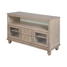 Kouper Transitional Media Console In Grey Twilight