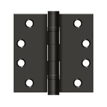 "4"" x 4"" Square Hinge, HD, Ball Bearings - Oil-rubbed Bronze"