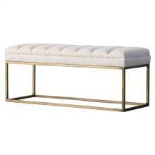 Darius Fabric Bench, Shortbread