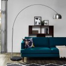 Sunflower Round Marble Base Floor Lamp in Black Product Image